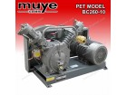 PET Booster Compressor for Bottle Blow Moulding Model BC560-10.